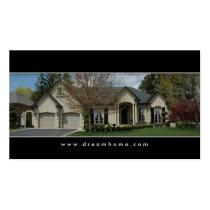 Elegant Real Estate House Business Card