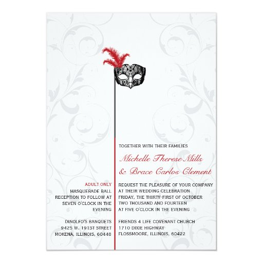 Masquerade wedding invitation wording 28 images masquerade masquerade filmwisefo