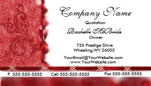 Embroidered Business Cards Zazzle