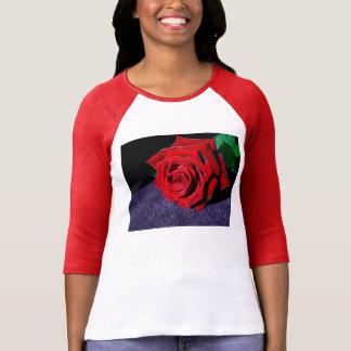 Elegant Red Rose T-Shirt