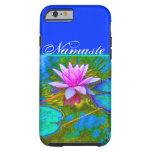 Elegant Reflections Namaste Yoga Lotus Tough iPhone 6 Case