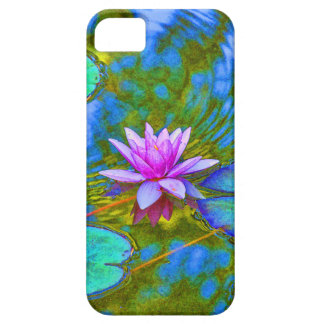 Elegant Reflections Pink Water Lily in Pond iPhone SE/5/5s Case