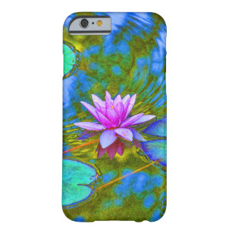 Elegant Reflections Pink Water Lily in Pond iPhone 6 Case