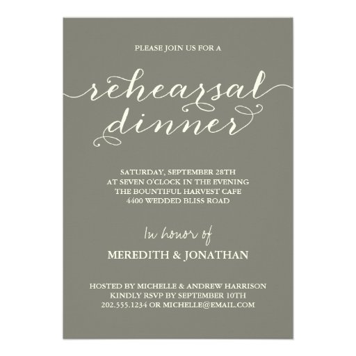 dinner party invitation email