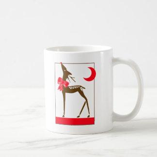 Elegant Reindeer Classic White Coffee Mug