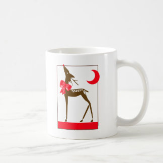 Elegant Reindeer Coffee Mug