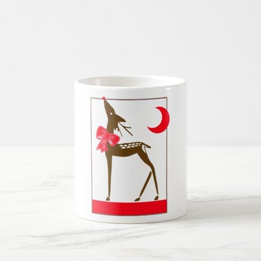 Elegant Reindeer Mug