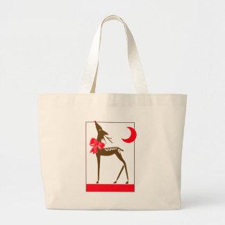 Elegant Reindeer Tote Bag