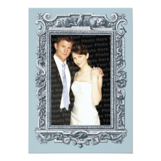 Elegant Renaissance Save the Date Wedding Card
