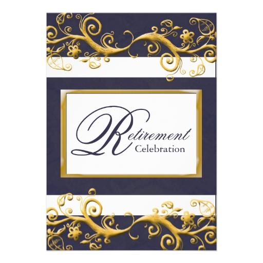free retirement party invitation