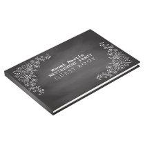 Elegant Retirement Party | Vintage Chalkboard Guest Book