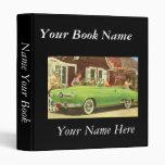 Elegant Retro Book Avery Binder Vinyl Binders