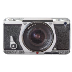 Elegant Retro Camera Scroll on iPod Touch 4G iPod Touch Case-Mate Case at Zazzle