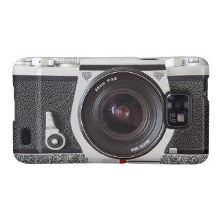 Elegant Retro Camera With Scroll Samsung Galaxy S2 Samsung Galaxy SII Case