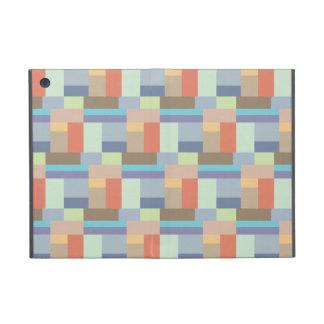 Elegant Retro Rectangle Pattern 1960s Chic iPad Mini Cover
