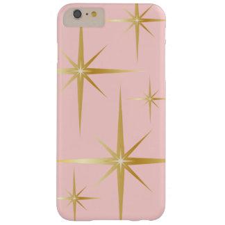 Elegant Retro Starburst iPhone 6 Plus Case - Pink