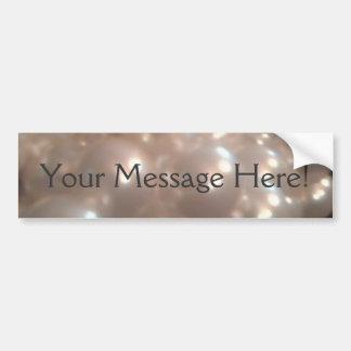 Elegant Retro Vintage Antique Pearls Jewelry Bumper Sticker