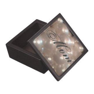 Elegant Retro Vintage Antique Pearls Mom Mother Premium Jewelry Box