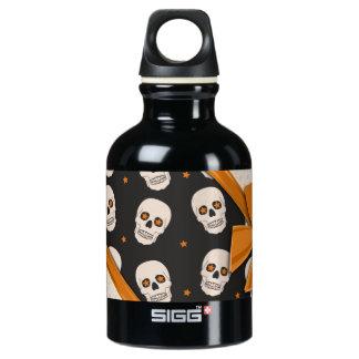 Elegant Ribbons and Skulls Halloween SIGG Traveler 0.3L Water Bottle