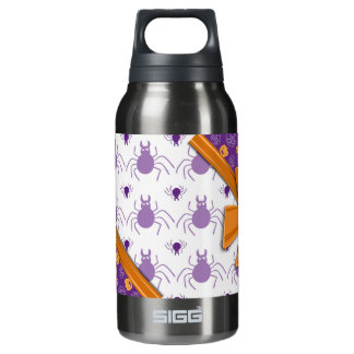 Elegant Ribbons, Pumpkins and Spiders Halloween 10 Oz Insulated SIGG Thermos Water Bottle