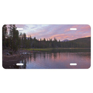 Elegant river Bank view License Plate