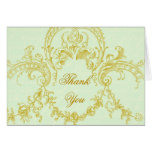 Elegant Rococo Frame Personalized Note Cards