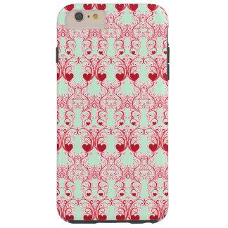 Elegant Romance Tough iPhone 6 Plus Case