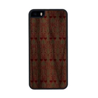 Elegant Romance Carved® Walnut iPhone 5 Slim Case