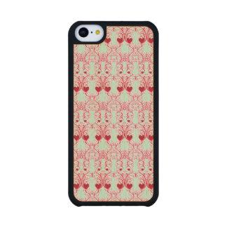 Elegant Romance Carved® Maple iPhone 5C Slim Case