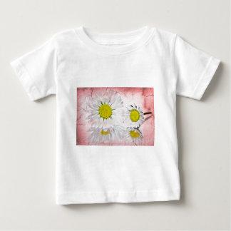 Elegant Romantic Bridal Shower Daisies Wedding Baby T-Shirt