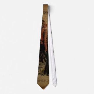elegant  romantic vintage girly paris fashion neck tie