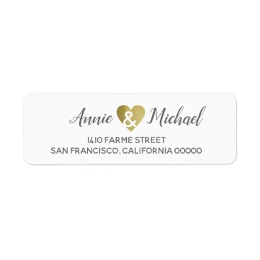 Bride Themed elegant romantic wedding bride groom address label