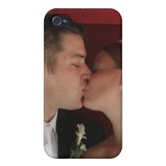 Elegant Romantic Wedding Personalized Photo iPhone 4 Case