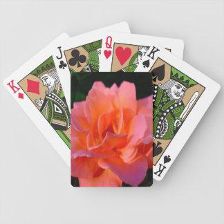 Elegant Rose Bicycle Playing Cards