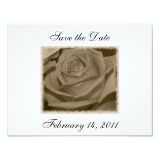 Elegant Rose Card
