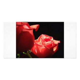 Elegant Rose Card