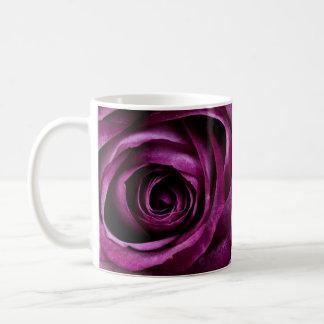 ELEGANT ROSE CLASSIC WHITE COFFEE MUG