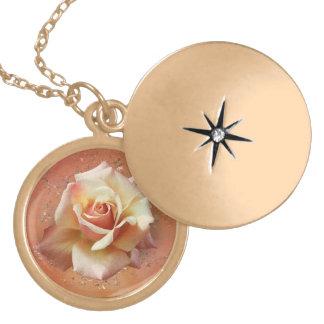 Elegant Rose Necklace Lockit Choose your design v2