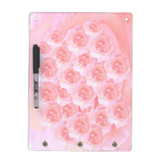 Elegant Rose Wave Dry Erase Whiteboards