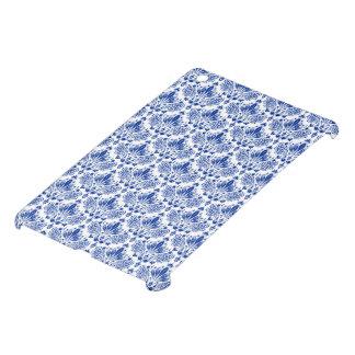 Elegant Royal Blue And White Damasks iPad Mini Cover