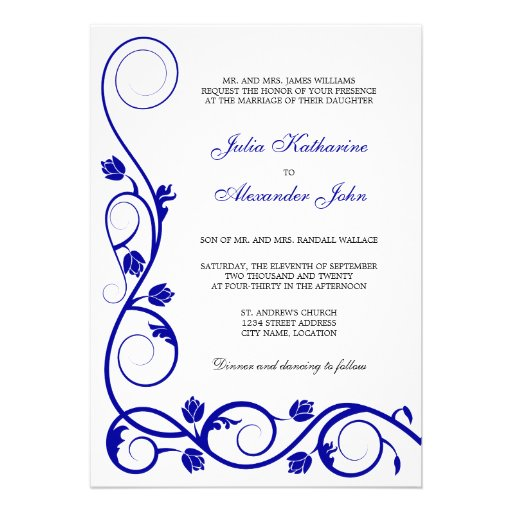Blank Wedding Invitation Kits as beautiful invitations example