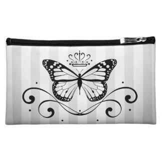 Elegant Royal Butterfly Makeup Bags
