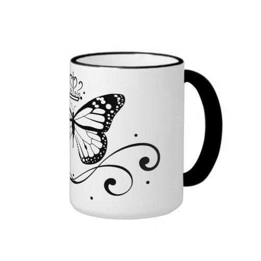 Elegant Royal Butterfly Coffee Mug