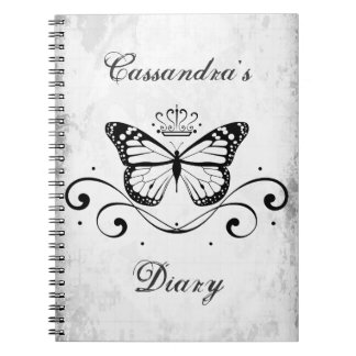 Elegant Royal Butterfly Notebook