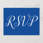 "[ Thumbnail: Elegant ""RSVP"" Postcard ]"