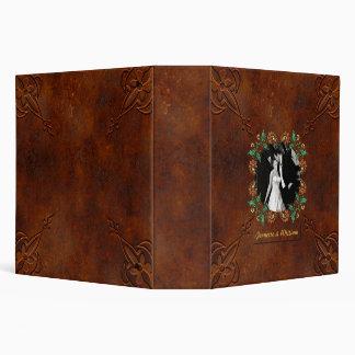 Elegant Rust Look wedding Album Binder