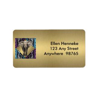 Elegant Safari Label