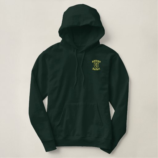Elegant Safari Sweat - NZP Embroidered Hoodie