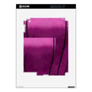 Elegant Satin Silk Fabric Look - Add your text iPad 2 Skins