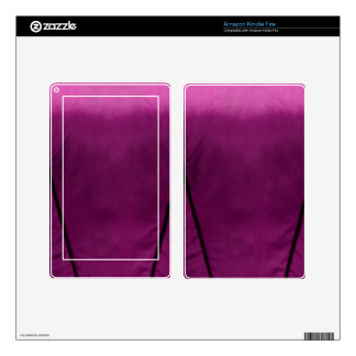 Elegant Satin Silk Fabric Look - Add your text Kindle Fire Decal